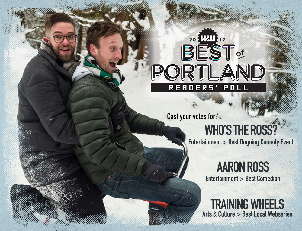 "Training Wheels ""Best of Portland"" comedy humor funny web series online sitcom Aaron Ross"