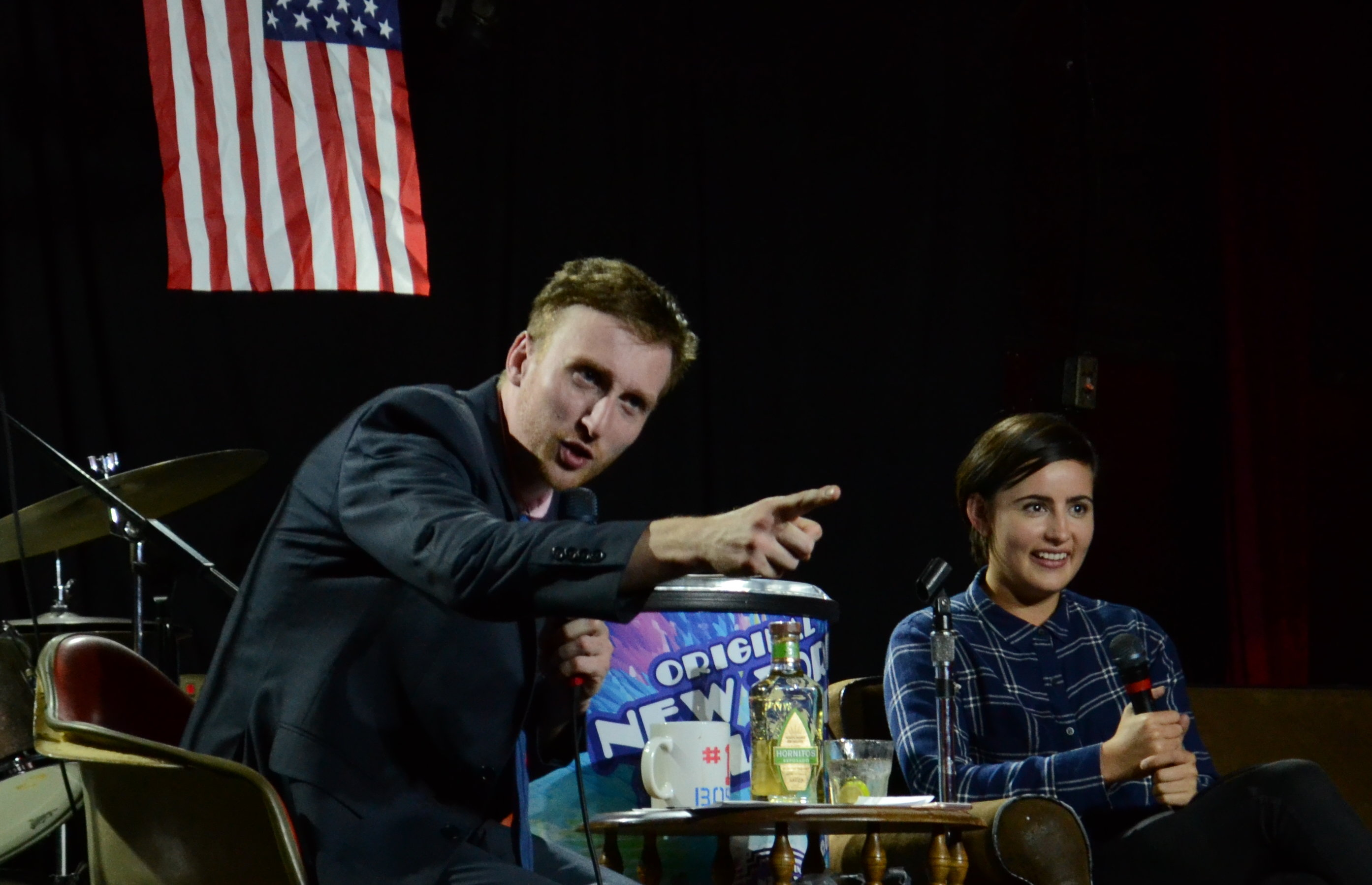 Jacqueline Toboni Grimm star actress Aaron Ross comedian comedy talk show late-night PDX Portland Who's the Ross?