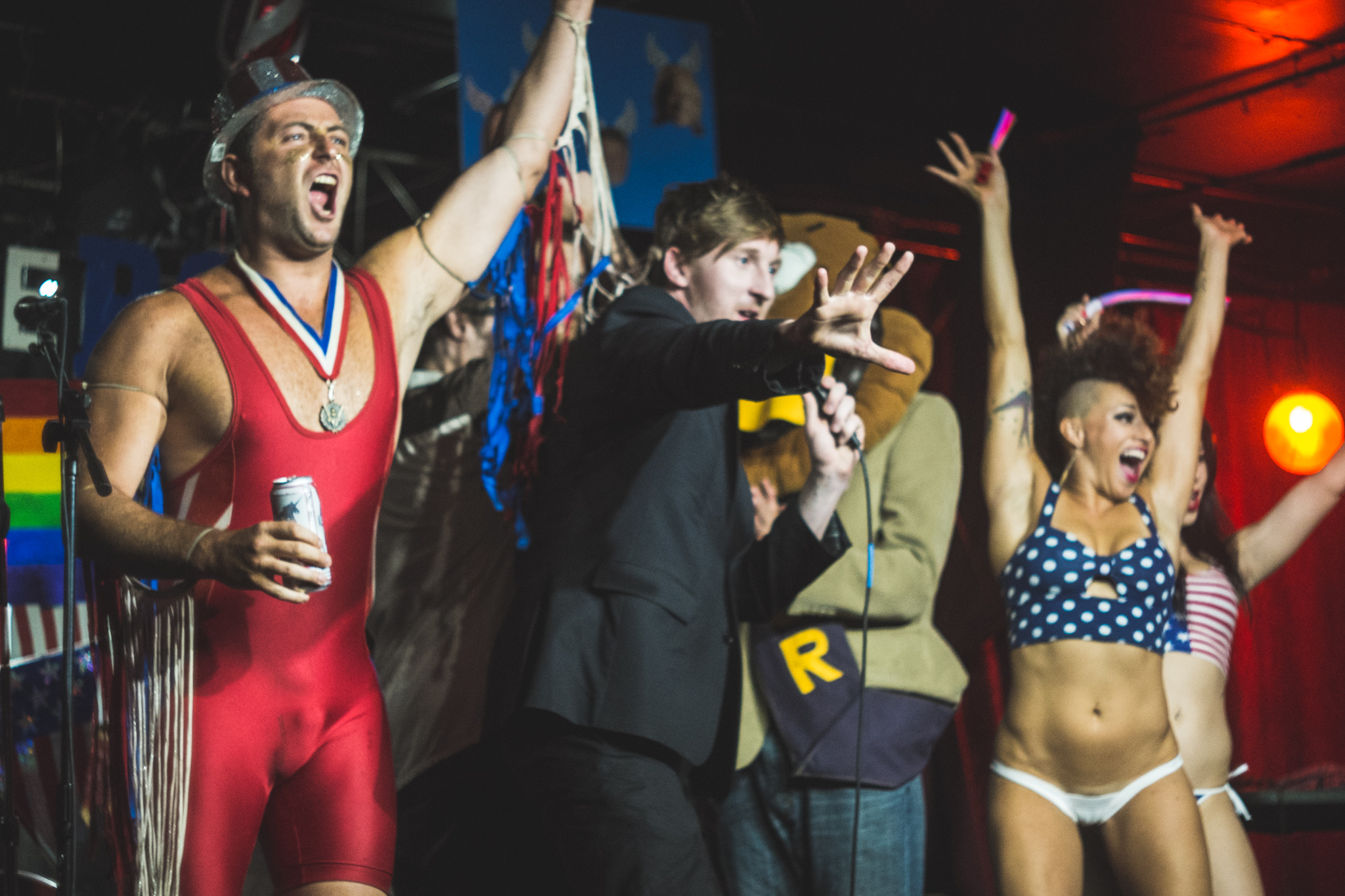 Who's the Ross? - 4th of July Spectacular comedy Portland late-night talk show Dante's