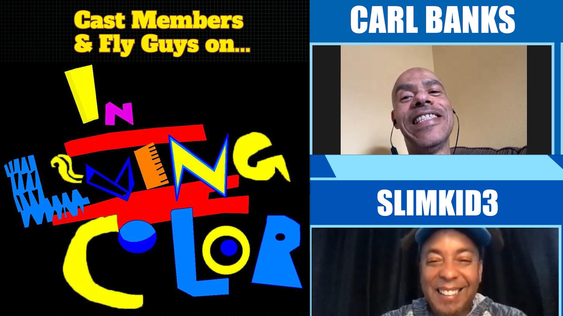 Carl Banks Slimkid3 Pharcyde rapper cast member actor fly guy funny humor story interview 90's show tv sketch comedian